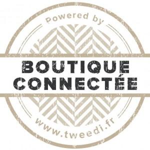 Label de boutique connectée Tweedi